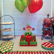 santa themed birthday ideas themed