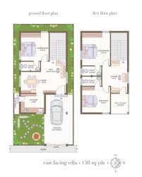 East Facing Duplex House Floor Plans by 30 X 40 House Plans 30 X 40 North Facing House Plans Duplex House