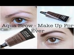 revue n 23 aqua brow make up for ever