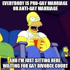 Anti Gay Meme - everybody is pro gay marriage or anti gay marriage and i m just