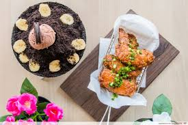 seoul good review korean fried chicken and bingsu cafe at a