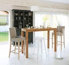 tables hautes de cuisine cuisine table haute chaise hauteur standard but eliptyk