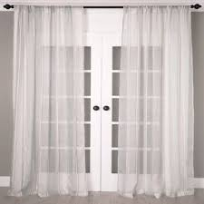 108 Inch Panel Curtains Buy Linen 108 Inch Window Curtain Panel In White From Bed Bath