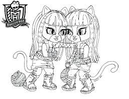monster high coloring pages baby abbey bominable coloring pages monster high monster high printable coloring pages