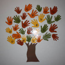 giving thanks thanksgiving day thankgiving tree i am adapting this kids will trace heands and i