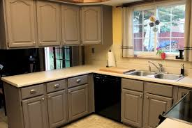 Painting Kitchen Cabinets Chalk Paint Paint Wood Kitchen Cabinets White White Painted Oak Cabinets