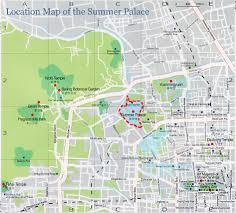 Beijing Map Beijing Summer Palace Maps Maps Of Beijing Yiheyuan