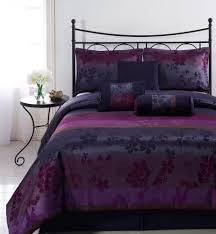 Black And Purple Bed Sets Black And Purple Comforter Sets Light Purple Curtains Black And
