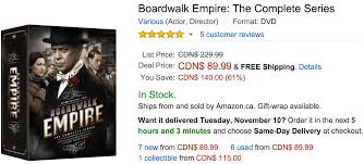amazon ca black friday sale amazon canada black friday deals of the day save 61 on boardwalk