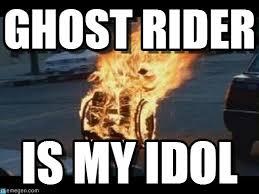 Ghost Meme - ghost rider mfmf meme on memegen