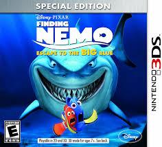 amazon com finding nemo escape to the big blue special edition