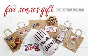 Gift For My On Unique Five Senses Gift Ideas Plus Free Printable