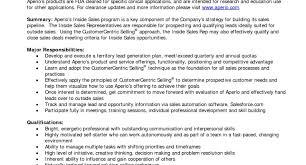 inside sales resume resume inside sales representative resume sle amazing sales