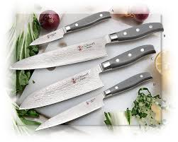 vg10 kitchen knives a g damascus gray corian handle kitchen knives