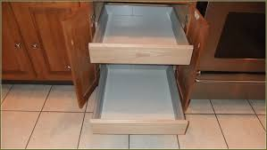 Kitchen Cabinet Drawer Slides Style  Best Home Decor Ideas - Kitchen cabinet drawer rails