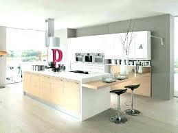 cuisine blanc laqu plan travail bois cuisine blanc laque et bois plan de travail laquac buyproxies info