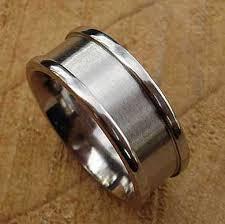titanium wedding rings uk recessed titanium wedding ring online in the uk