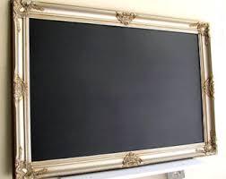 tall narrow kitchen chalkboard long bulletin board message