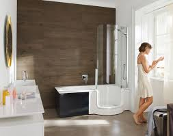 built in bathtub shower combination other shapes composite