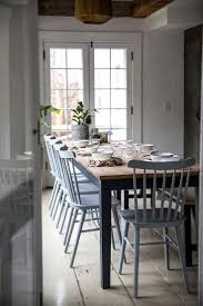 blue painted dining table wonderful color dining table set furniture grey blue dining room
