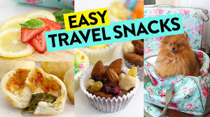 Travel Food images 3 easy travel snacks recipes on the go recipe jpg