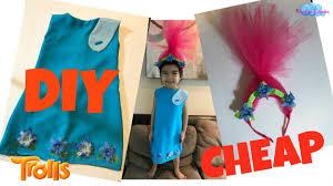 bubbles halloween costume trolls poppy costume dollar tree walmart cheap diy for kids youtube