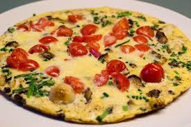 vegetarische küche ein schnelles frühlings omelette für die eilige küche schnelle