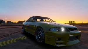 fast and furious 1 cars leon u0027s nissan r33 the fast and the furious gta5 mods com