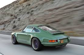green porsche 911 photo gallery porsche 911 reimagined by singer in green and