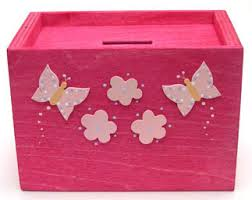 money box butterfly wooden money box pineneedles