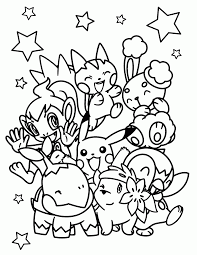 anime coloring pages printable printable coloring pages pokemon
