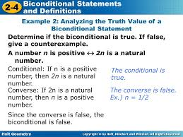 biconditional statements and definitions ppt video online download
