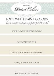 best white for cabinets behr my 5 top white paint colors favorite paint colors