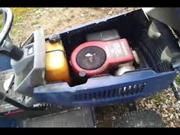 lowes riding mower 14hp 14 42 youtube