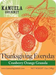 thanksgiving everyday cranberry orange 12oz 340g kamuela gourmet