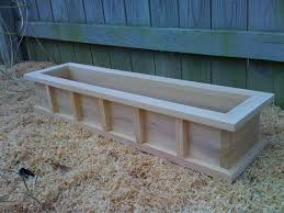 Wooden Planter Box Plans by Window Box Cypress Wooden Planter Flower By Mphproducts The
