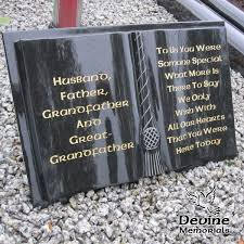 grave plaques bible with cord tassel grave accessories ireland