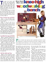 Kids Work Bench Plans Kids Workbench Plans U2022 Woodarchivist