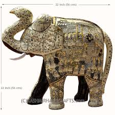 Paper Mache Ideas For Home Decor Ivory Decorative Papier Mache Embossed Elephant Sculpture Hand