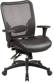 space seating office star space seating 68 50764 professional breathable mesh black