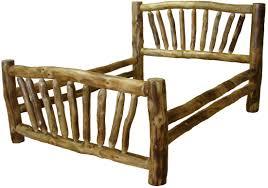 Log Bedroom Furniture Williams Log Cabin Furniture Colorado Aspen Log Beds Headboards