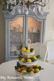 romantic home decor my romantic home decorating with lemons show and tell friday