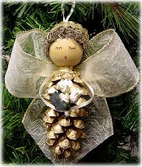 Christmas Angels Decorations To Make by Best 25 Pinecone Ornaments Ideas On Pinterest Pinecone Crafts