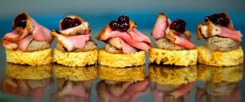 canap portland catering duck canape