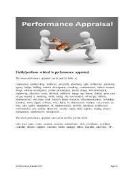 Production Supervisor Job Description For Resume production supervisor performance appraisal