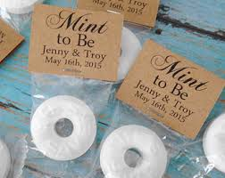 mint to be wedding favors wedding mint lifesaver matchbook favors happily after