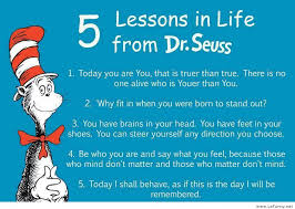 Dr Seuss Memes - 5 lessons in life from dr seuss