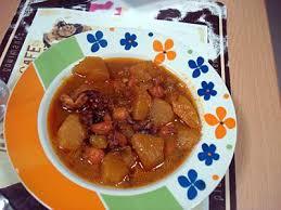 poulpe cuisine recette de guisado de pulpo soupe de poulpe