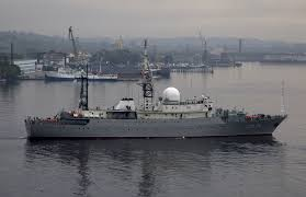 Show Me A Map Of Connecticut Coast Guard Tracking Russian Spy Ship Near Submarine Base In