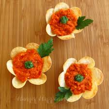 flower crisps appetizers hungry happenings easter recipes